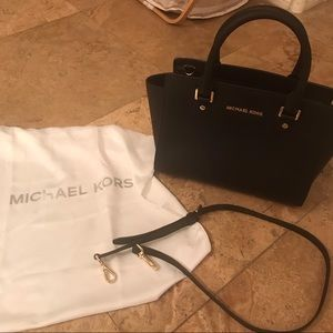 Michael Kors Black Selma Bag